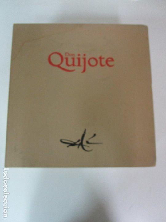 Libros de segunda mano: Don Quijote de la Mancha - 40 Ilustraciones Dalí - Ed Planeta - Fundación Gala Dalí - nº 663 de 998 - Foto 20 - 182145276