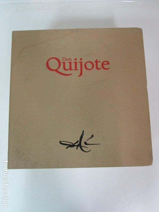 Libros de segunda mano: Don Quijote de la Mancha - 40 Ilustraciones Dalí - Ed Planeta - Fundación Gala Dalí - nº 663 de 998 - Foto 23 - 182145276