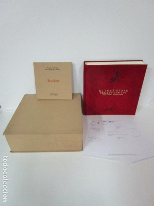 DON QUIJOTE DE LA MANCHA - 40 ILUSTRACIONES DALÍ - ED PLANETA - FUNDACIÓN GALA DALÍ - Nº 663 DE 998 (Libros de Segunda Mano - Bellas artes, ocio y coleccionismo - Pintura)