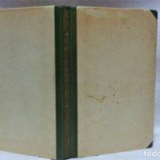 Libros de segunda mano: ENCUADERNACIÓN DE 44 LÁMINAS ACUARELAS (TIRADA LIMITADA) DE WALTER BRANDAO FEDER.(1909-1957) . Lote 182151142