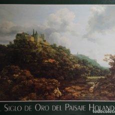 Libros de segunda mano: EL SIGLO DE ORO DEL PAISAJE HOLANDÉS / PETER C. SUTTON. THYSSEN-BORNEMISZA ; CENTRAL HISPANO, [S.A.]. Lote 182462001