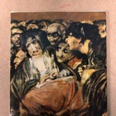 Libros de segunda mano: GOYA. DINO FORMAGGIO. ISTITUTO GEOGRÁFICO DE AGOSTINI NOVARA EDITORIAL TEIDE 1960. Lote 182533535
