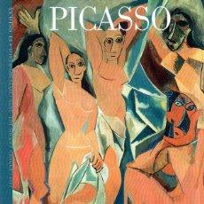 Libros de segunda mano: PICASSO. LOS GRANDES GENIOS DEL ARTE. BIBLIOTECA DEL MUNDO. 2003.. Lote 202529376
