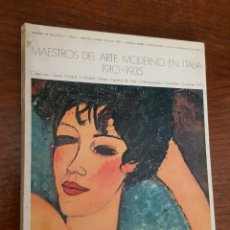 Libros de segunda mano: MAESTROS DEL ARTE CONTEMPORANEO EN ITALIA. 1910-1935. . Lote 182840965
