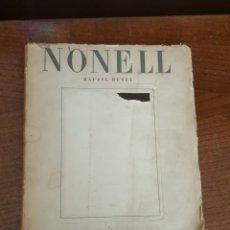 Libros de segunda mano: ISIDRO NONELL Y SU ÉPOCA. ISIDRO BENET. . Lote 182841450