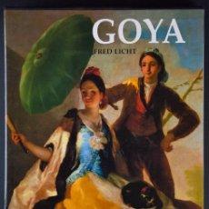 Libros de segunda mano: GOYA.TRADICIÓN Y MODERNIDAD.FRED LICHT.EDICIÓN COLECCIONISTA. Lote 182888907