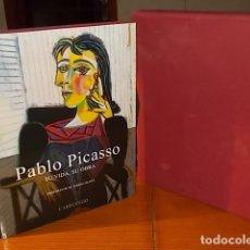 Libros de segunda mano: PABLO PICASSO . SU VIDA , SU OBRA. GIORGIO CORTENOVA . CARROGGIO . 1ª EDICIÓN 2005. INCLUYE ESTUCHE. Lote 182903060