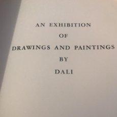 Libros de segunda mano: DRAWINGS AND PAINTINGS BY DALI 1943. Lote 182944428