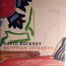 Libri di seconda mano: DAVID HOCKNEY: EGYPTIAN JOURNEYS: PALACE OF ARTS, CAIRO, 2002 / MARCO LIVINGSTONE. AMERICAN UNIV.. Lote 183001742