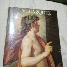 Libros de segunda mano: VELÁZQUEZ. CATÁLOGO DE LA EXPOSICIÓN EN EL MUSEO DEL PRADO EN 1990.. Lote 183014117