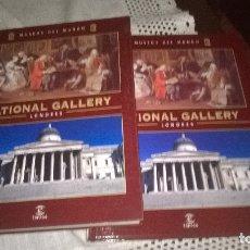 Libros de segunda mano: 8-MUSEOS DEL MUNDO, NATIONAL GALLERY. Lote 183035886