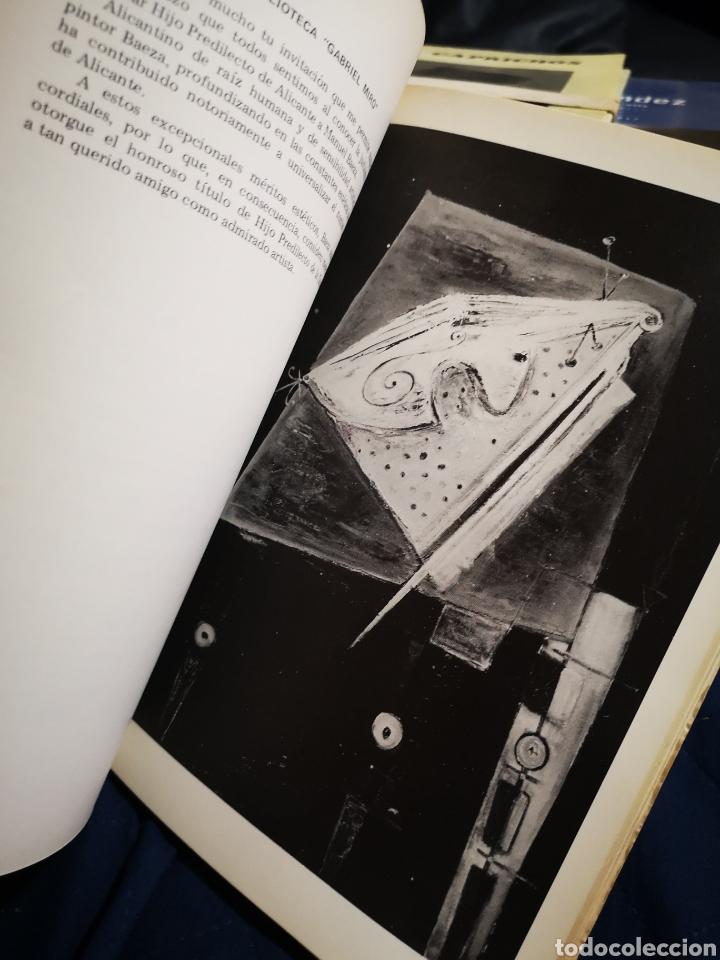 Libros de segunda mano: HOMENAJE - AMIGOS DE MANUEL BAEZA - ALICANTE 1981 - Foto 2 - 183039513