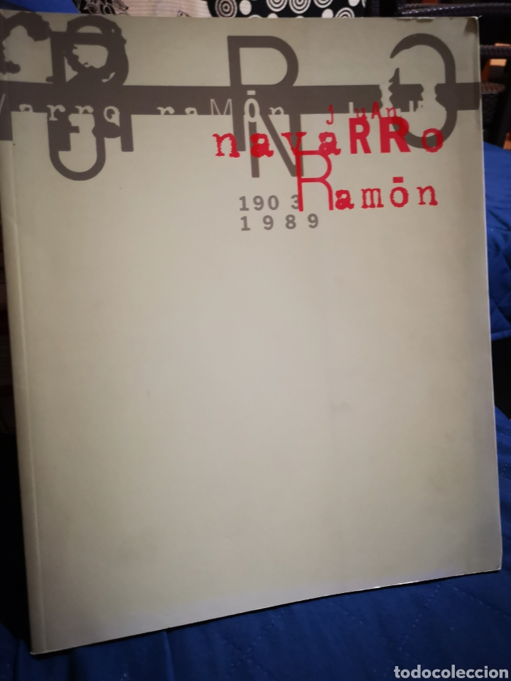 JUAN NAVARRO RAMÓN 1903 1989 ALICANTE (Libros de Segunda Mano - Bellas artes, ocio y coleccionismo - Pintura)