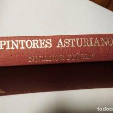 Libros de segunda mano: PINTORES ASTURIANOS. BANCO HERRERO (S. LIM.). NICANOR PIÑOLE. Lote 183197973