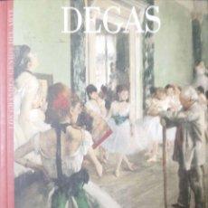 Libros de segunda mano: DEGAS. LOS GRANDES GENIOS DEL ARTE. CARLOS REYERO. Lote 183257386