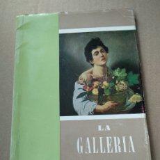 Libros de segunda mano: LA GELLERIA BORGHESE IN ROMA. Lote 183323900