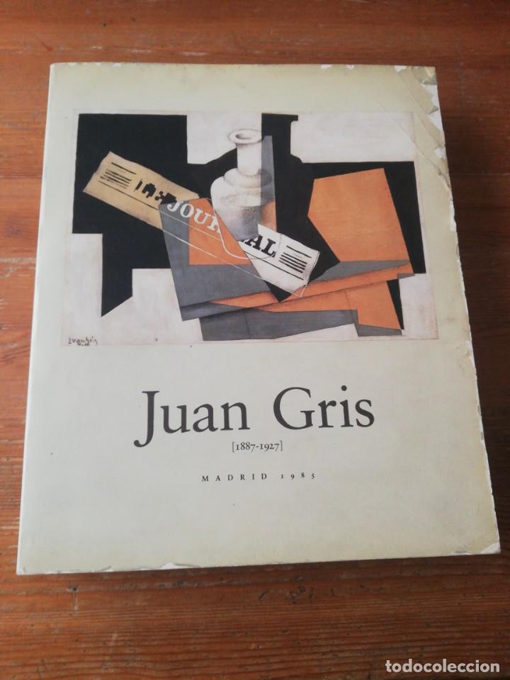 JUAN GRIS. 1887-1927. MADRID. 1985. (Libros de Segunda Mano - Bellas artes, ocio y coleccionismo - Pintura)
