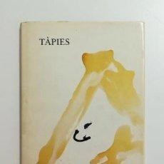 Libros de segunda mano: TÀPIES. PINTURAS Y DIBUJOS 1984. Lote 183462475