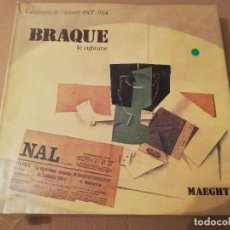 Libros de segunda mano: BRAQUE. LE CUBISME (NICOLE WORMS DE ROMILLY / JEAN LAUDE) TEXTO EN FRANCÉS. Lote 183628105