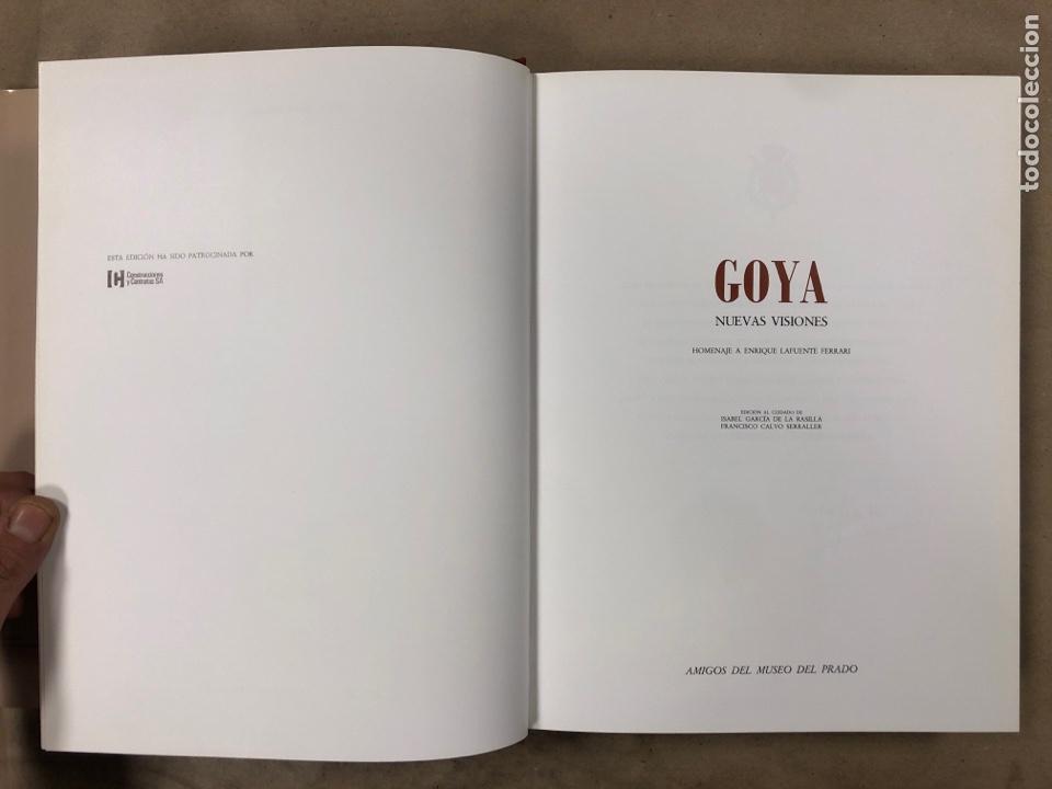 Libros de segunda mano: GOYA, NUEVAS VISIONES. HOMENAJE A ENRIQUE LAFUENTE FERRARI AMIGOS DEL MUSEO DEL PRADO - Foto 3 - 183747938