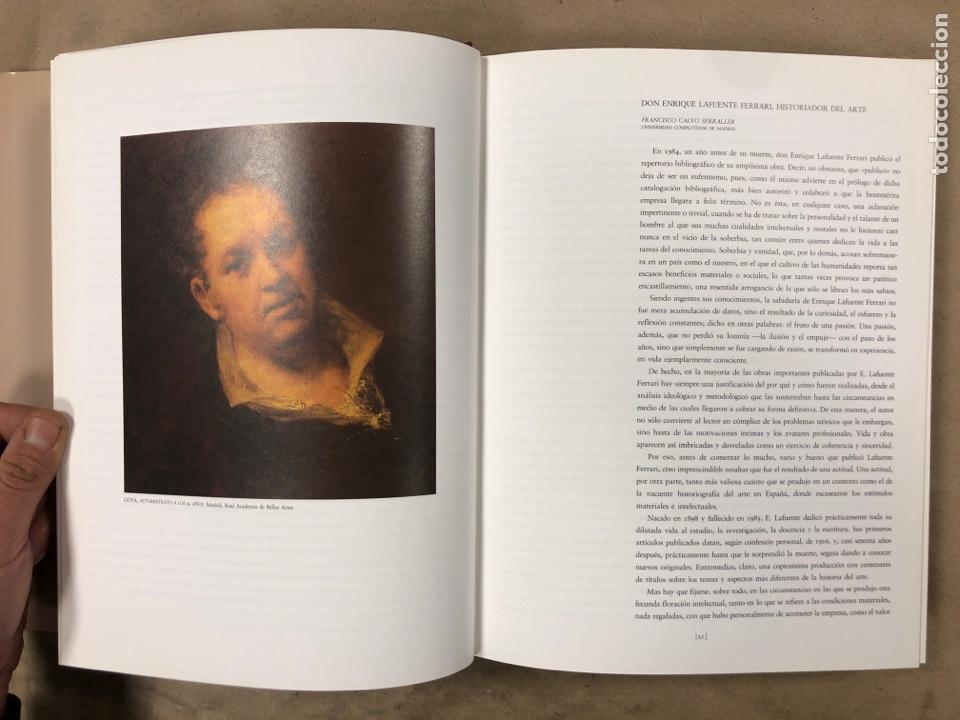 Libros de segunda mano: GOYA, NUEVAS VISIONES. HOMENAJE A ENRIQUE LAFUENTE FERRARI AMIGOS DEL MUSEO DEL PRADO - Foto 5 - 183747938