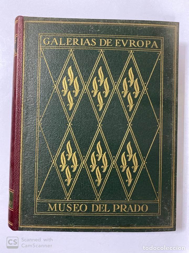 GALERIAS DE EUROPA. GALERIA DE PINTURAS DEL MUSEO DEL PRADO. 2ª ED. EDITORIAL LABOR. BARCELONA. (Libros de Segunda Mano - Bellas artes, ocio y coleccionismo - Pintura)