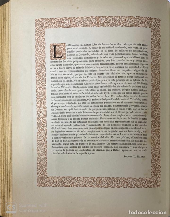 Libros de segunda mano: GALERIAS DE EUROPA. GALERIA DE PINTURAS DEL MUSEO DEL PRADO. 2ª ED. EDITORIAL LABOR. BARCELONA. - Foto 8 - 183792995