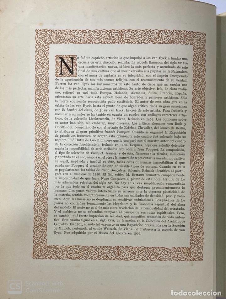 Libros de segunda mano: GALERIAS DE EUROPA. GALERIA DE PINTURAS DEL MUSEO DEL LUVRE. 2ª ED.EDITORIAL LABOR.BARCELONA. - Foto 7 - 183796768