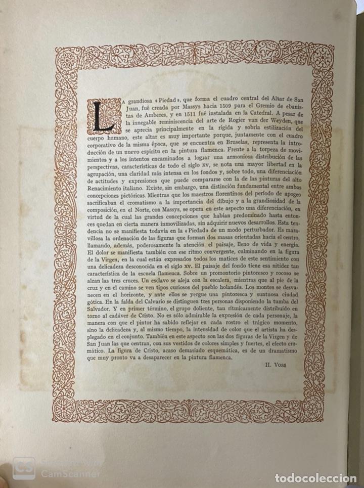 Libros de segunda mano: GALERIAS DE EUROPA. GALERIA DE PINTURAS MUSEO DE LOS PAISES BAJOS. 2ª ED.EDITORIAL LABOR.BARCELONA - Foto 7 - 183796950