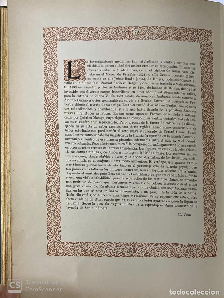 Libros de segunda mano: GALERIAS DE EUROPA. GALERIA DE PINTURAS MUSEO DE LOS PAISES BAJOS. 2ª ED.EDITORIAL LABOR.BARCELONA - Foto 11 - 183796950