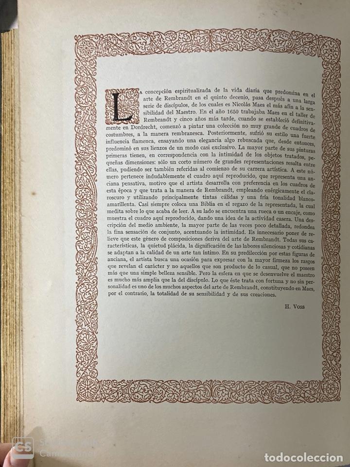 Libros de segunda mano: GALERIAS DE EUROPA. GALERIA DE PINTURAS MUSEO DE LOS PAISES BAJOS. 2ª ED.EDITORIAL LABOR.BARCELONA - Foto 13 - 183796950