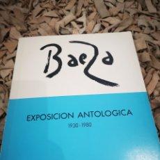 Libros de segunda mano: MANUEL BAEZA, EXPOSICIÓN ANTOLOGICA 1930-1980. Lote 183810038