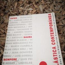 Libros de segunda mano: PLÁSTICA CONTEMPORÁNEA FONDOS DE LA DIPUTACIÓN PROVINCIAL DE ALICANTE. Lote 183812408
