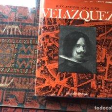 Libros de segunda mano: VELÁZQUEZ. JUAN ANTONIO GAYA NUÑO. Lote 183914688