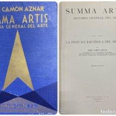 Libros de segunda mano: LA PINTURA ESPAÑOLA DEL SIGLO CVI. SUMMA ARTIS. VOL. XXIV. ESPASA-CALPE. MADRID, 1970. PAGS: 664. Lote 183978988