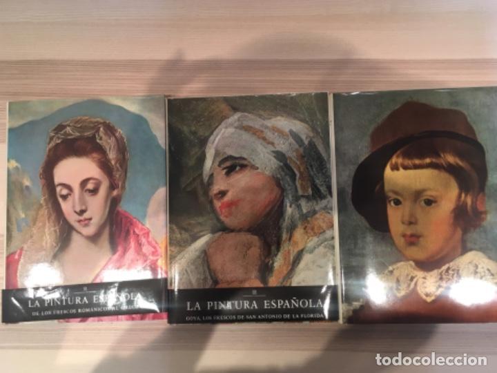 LA PINTURA ESPAÑOLA, 3 VOLÚMENES. SKIRA CARROGGIO (Libros de Segunda Mano - Bellas artes, ocio y coleccionismo - Pintura)