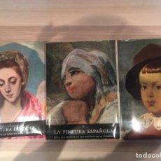 Libros de segunda mano: LA PINTURA ESPAÑOLA, 3 VOLÚMENES. SKIRA CARROGGIO. Lote 184104352