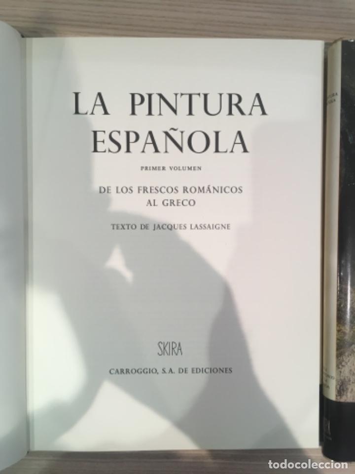 Libros de segunda mano: La Pintura Española, 3 volúmenes. SKIRA Carroggio - Foto 5 - 184104352
