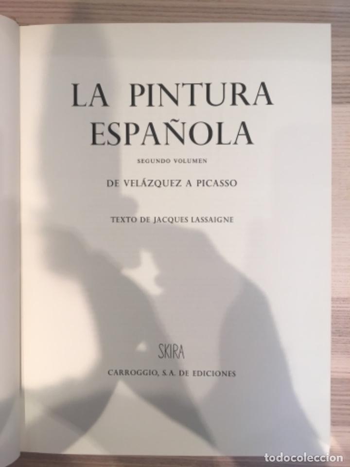 Libros de segunda mano: La Pintura Española, 3 volúmenes. SKIRA Carroggio - Foto 8 - 184104352
