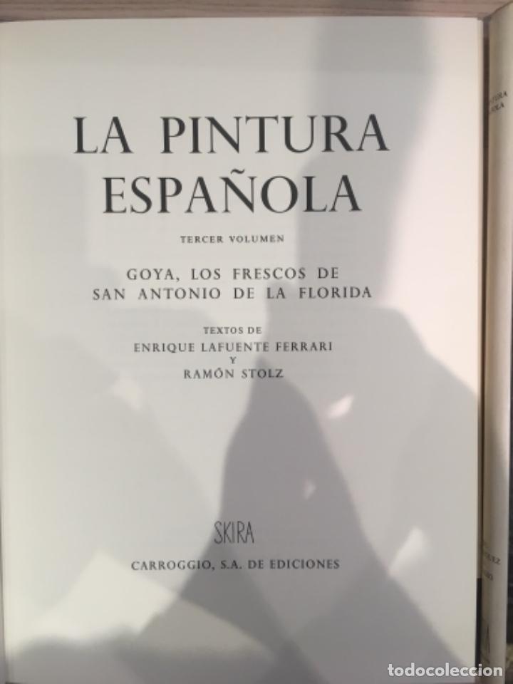 Libros de segunda mano: La Pintura Española, 3 volúmenes. SKIRA Carroggio - Foto 9 - 184104352