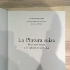 Libros de segunda mano: LA PINTURA SUIZA. SKIRA CARROGGIO. Lote 184105733