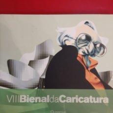 Libros de segunda mano: 2006 ORENSE VIII BIENAL CARICATURA CATÁLOGO. Lote 184385898