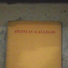 Libros de segunda mano: ARTISTAS GALLEGOS : DIAZ PARDO, LAXEIRO, CARLOS MASIDE Y ETC. EXPOSICION ORGANIZADA POR EL CENTRO GA. Lote 184650745