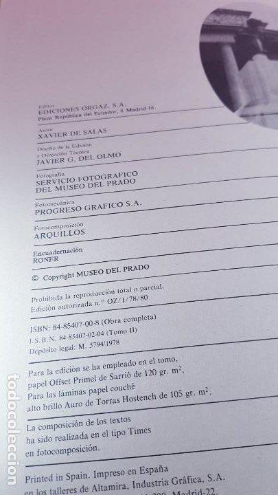 Libros de segunda mano: LIBROS(2)-GRANDES PINACOTECAS-MUSEO DEL PRADO-GOYA Y VELAZQUEZ-1980-BUEN ESTADO-VER FOTOS - Foto 18 - 184836896