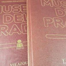 Libros de segunda mano: LIBROS(2)-GRANDES PINACOTECAS-MUSEO DEL PRADO-GOYA Y VELAZQUEZ-1980-BUEN ESTADO-VER FOTOS. Lote 184836896