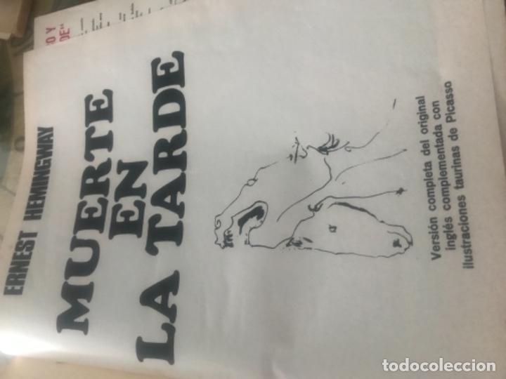 Libros de segunda mano: Hemingway Toros Picasso - Foto 2 - 187440082