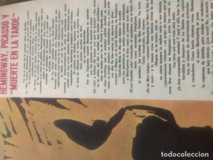 Libros de segunda mano: Hemingway Toros Picasso - Foto 3 - 187440082