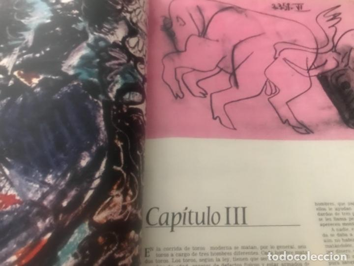 Libros de segunda mano: Hemingway Toros Picasso - Foto 6 - 187440082