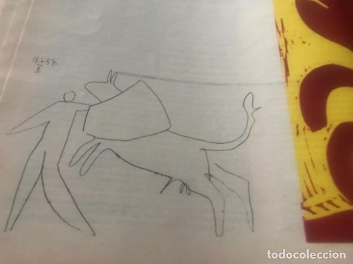 Libros de segunda mano: Hemingway Toros Picasso - Foto 10 - 187440082