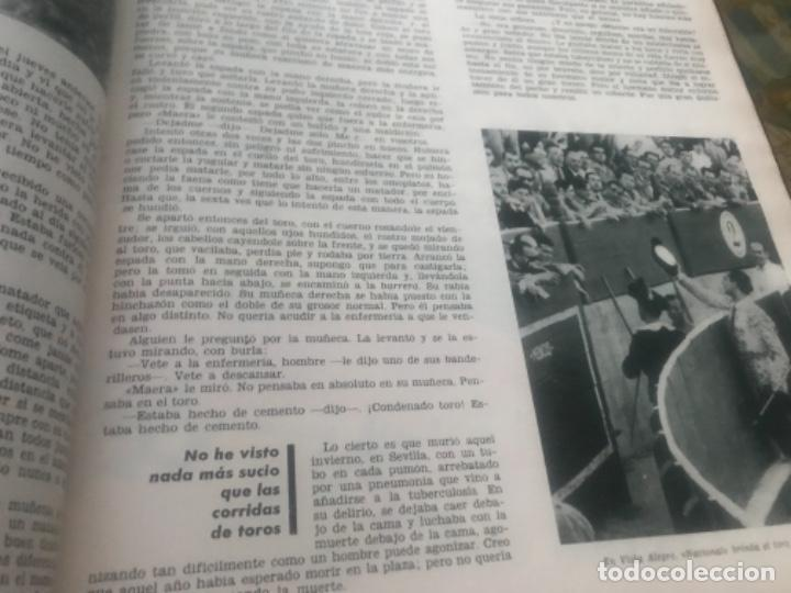 Libros de segunda mano: Hemingway Toros Picasso - Foto 13 - 187440082